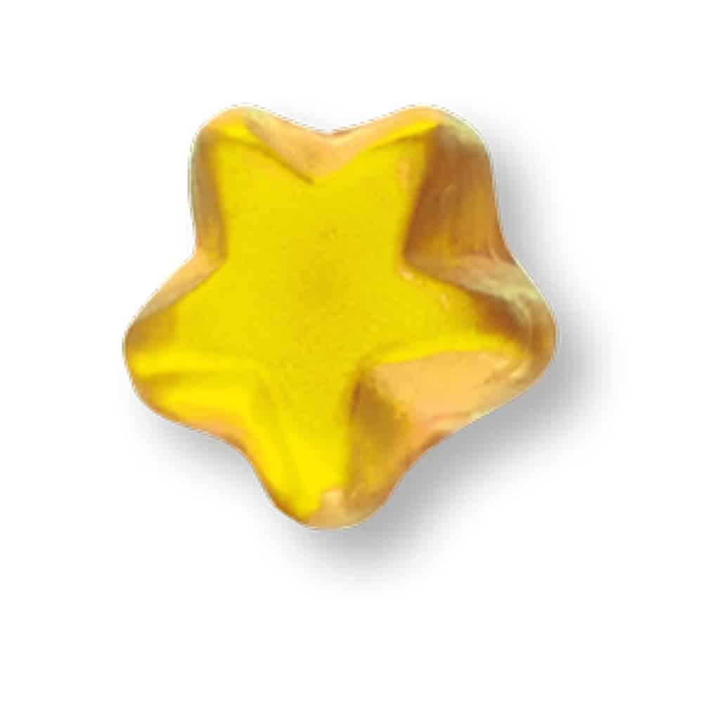 Fruchtgummitütchen bedrucken lassen mit Fruchtgummi in Sternform