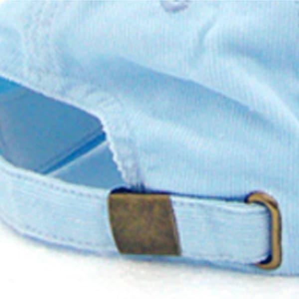 Baseballcap-Promocaps-Werbeartikel-Verschluss Metallverschluss und Öse