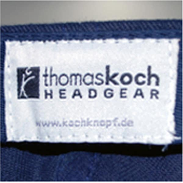 Baseballcaps - Veredelungstechnik gewebtes oder bedrucktes Carelabel / Herstellerlabel - Werbeartikel