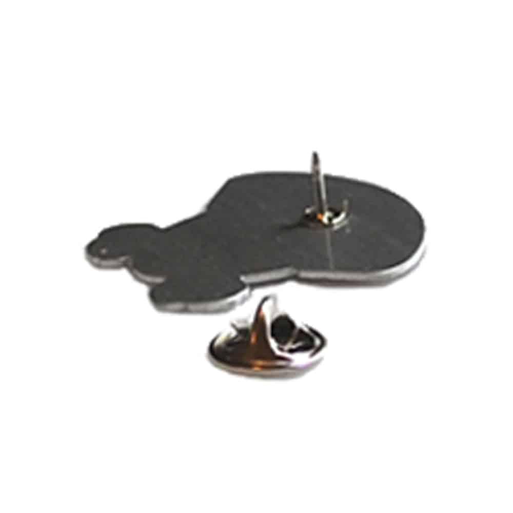 Pins, Anstecknadeln, Metallabzeichen, Butterfly Clip, Schmetterlingsverschluss, Werbeartikel