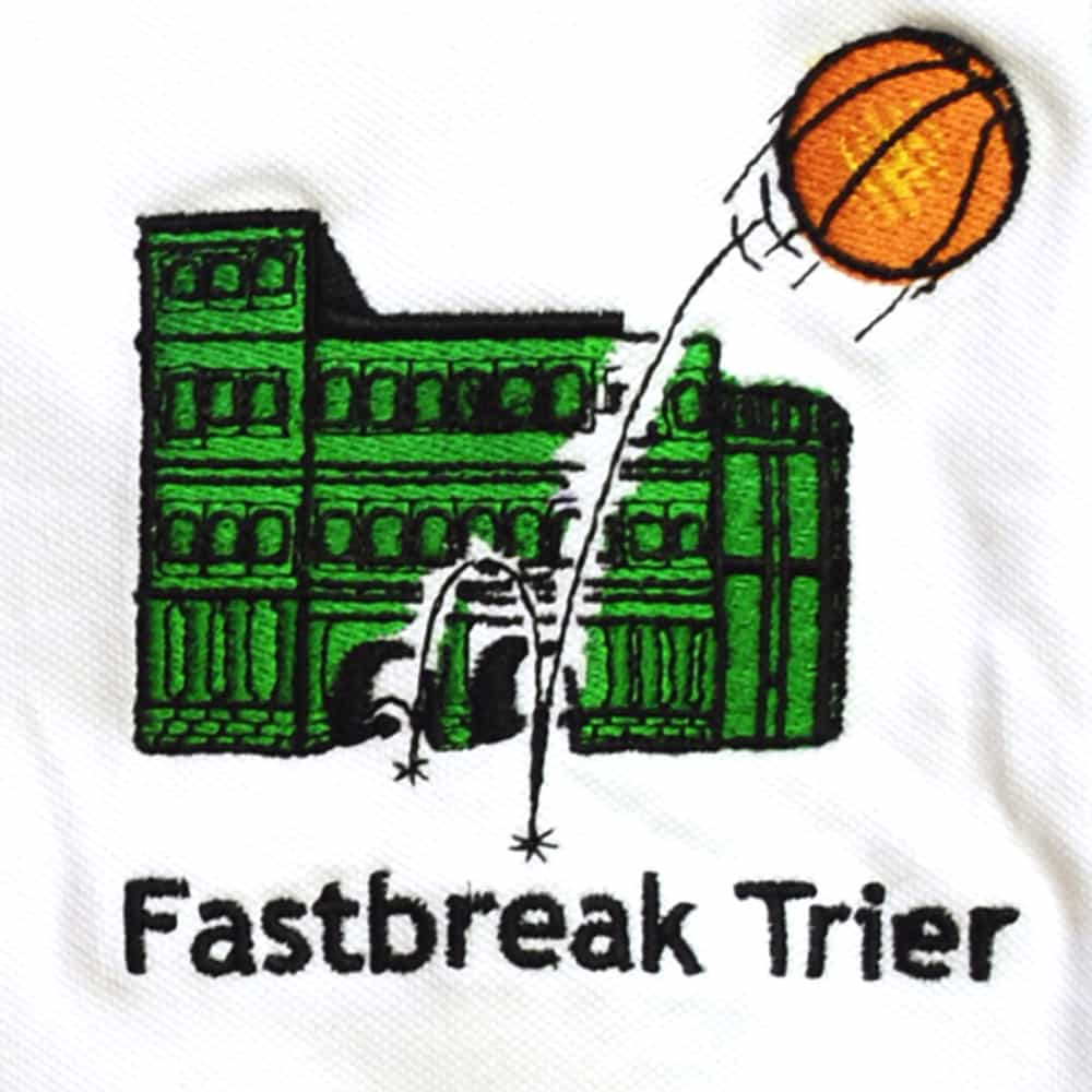 Textilveredelung - Bestickung - Stickerei Trier - Logostick - Direktstick - Textilien - T-shirts Sweatshirt - Werbeartikel