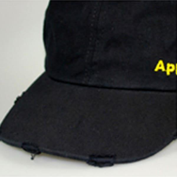 Baseballcaps - Veredelungstechnik used-look - washed material - Werbeartikel