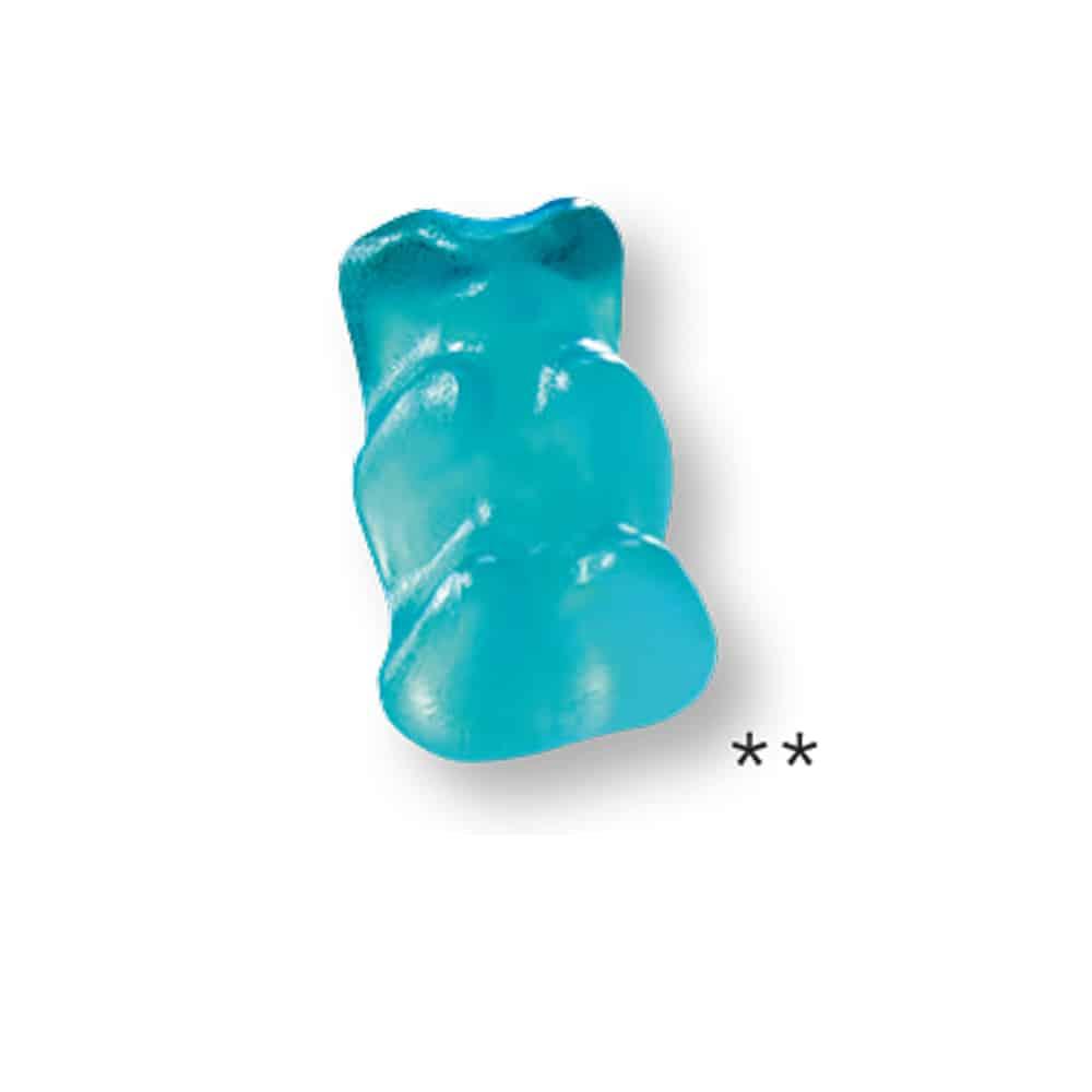 Eisbären Fruchtgummi im Werbetütchen im Kundendesign