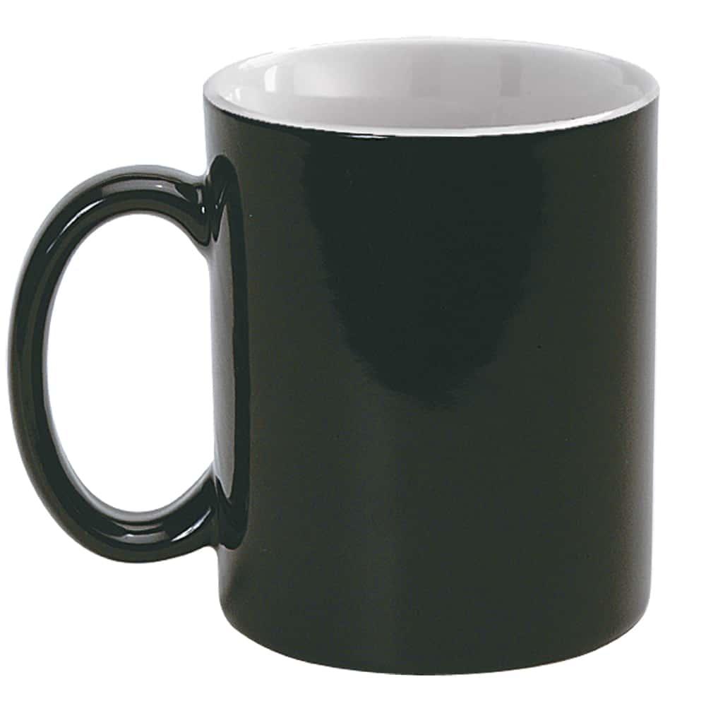 Magic Mug, Zaubertasse, Fotodruck erscheint bei heißen Getränken, Werbeartikel