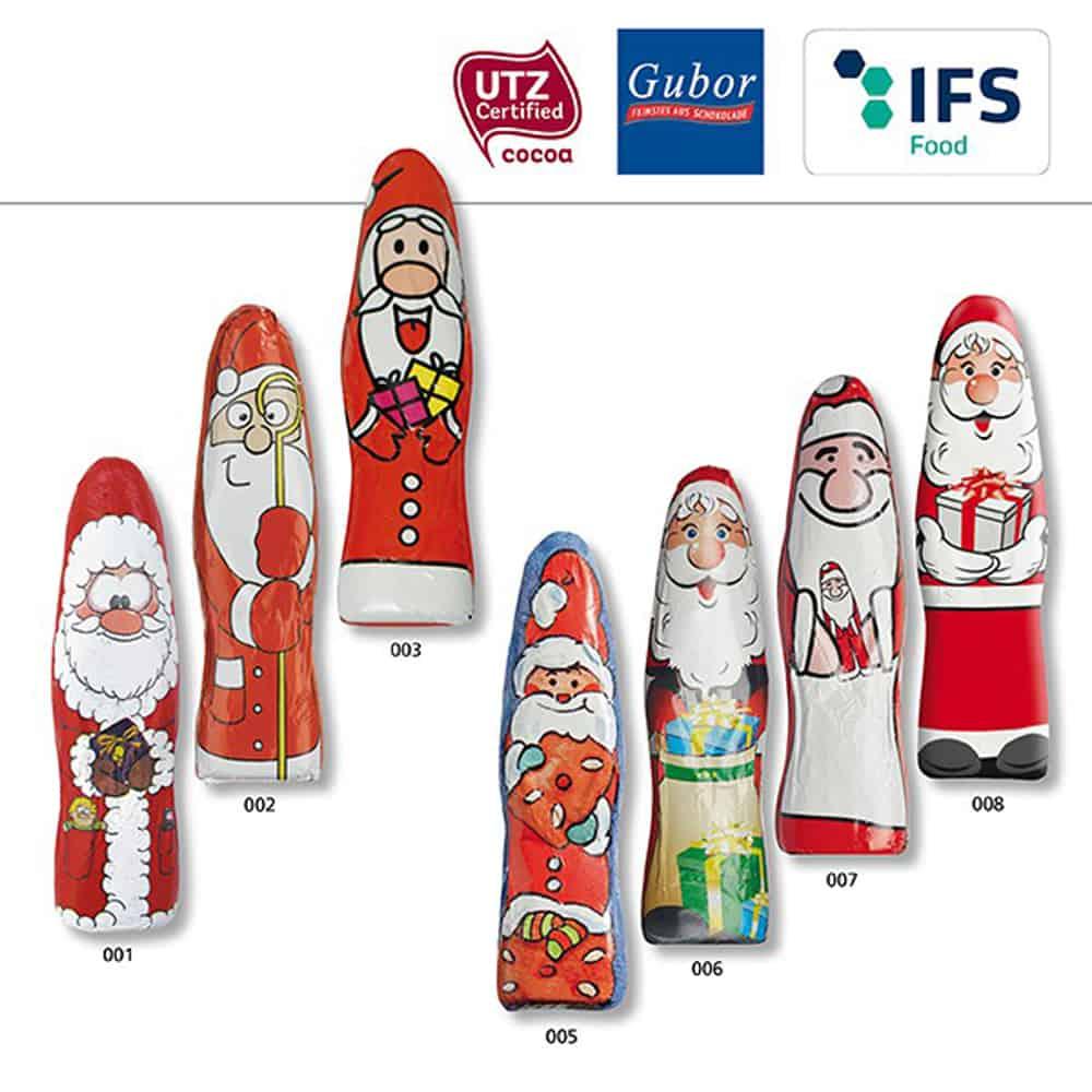 Werbeartikel Weihnachten.Schoki Weihnachtsmaenner Schokoladen Weihnachtsmann Werbeartikel