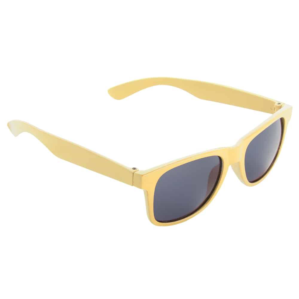 Werbe-Sonnenbrille, Kinder Sonnenbrille, SunKids, Werbeartikel, Farbe gelb