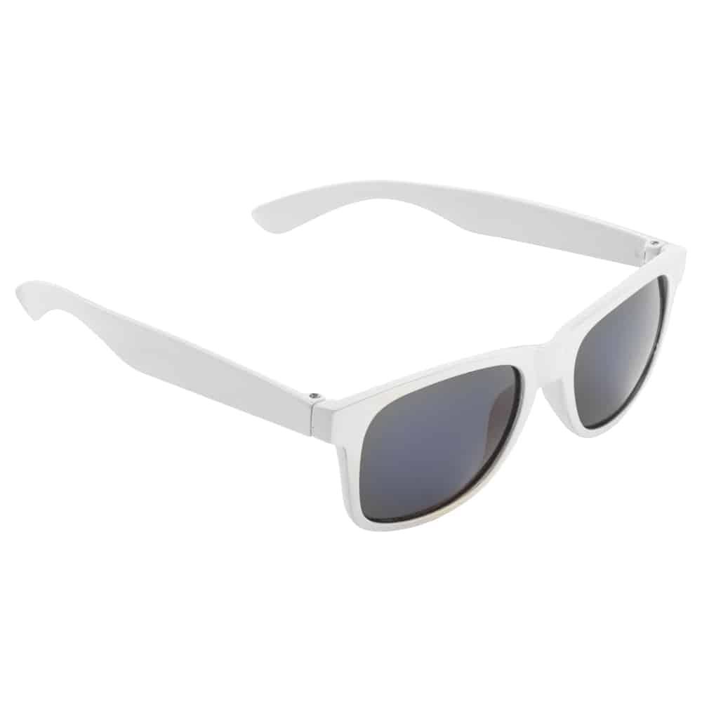 Werbe-Sonnenbrille, Kinder Sonnenbrille, SunKids, Werbeartikel, Farbe weiss