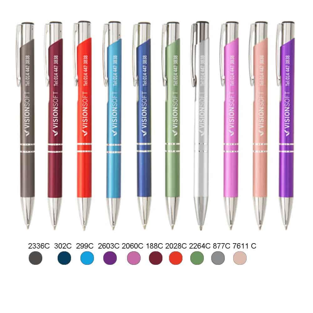Metall-Kugelschreiber,Werbekugelschreiber, Werbeartikel, Kugelschreiber bedrucken, Kugelschreiber gravieren