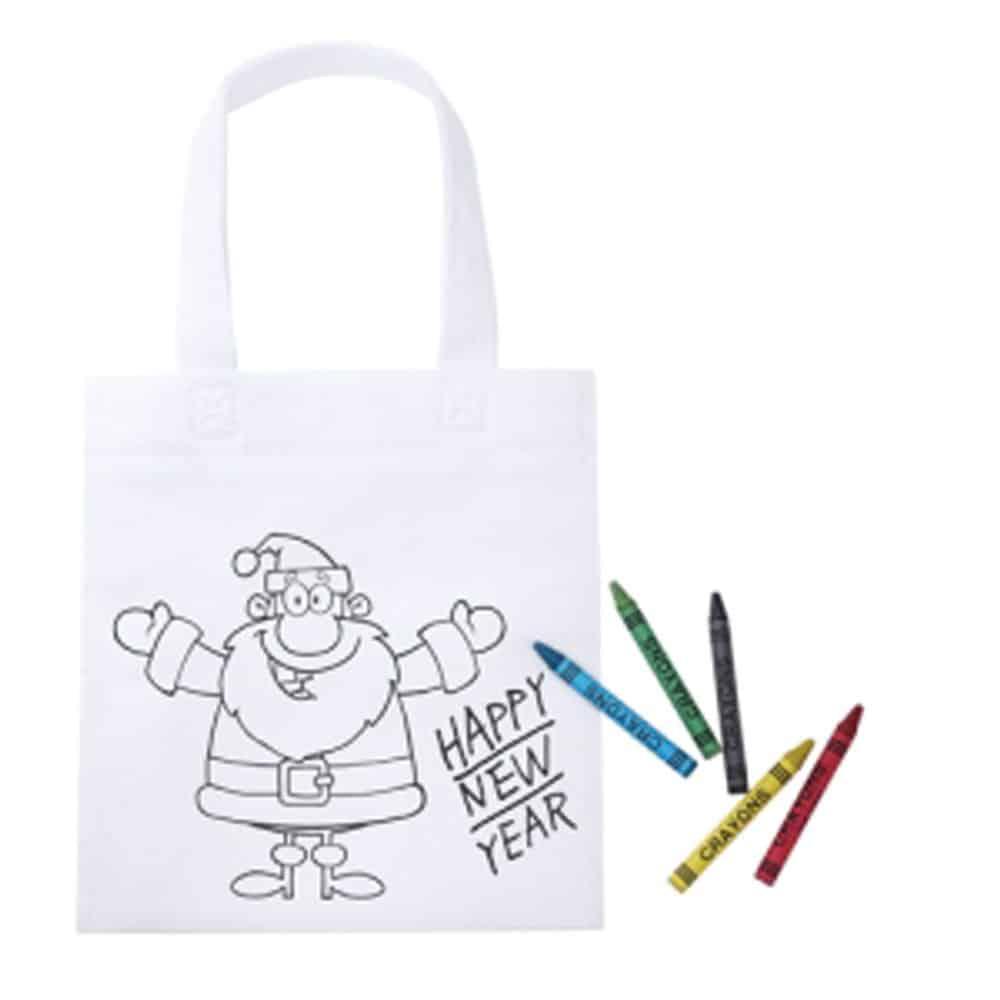 Weihnachtsartikel, Weihnachtskarte, Nikolaus, Christkind, Advent, Adventskalender, Weihnachtskarten herstellen lassen, Werbeartikel produzieren lassen, Nonvision, Werbeartikel herstellen lassen, ausmalen, ausmal Tasche